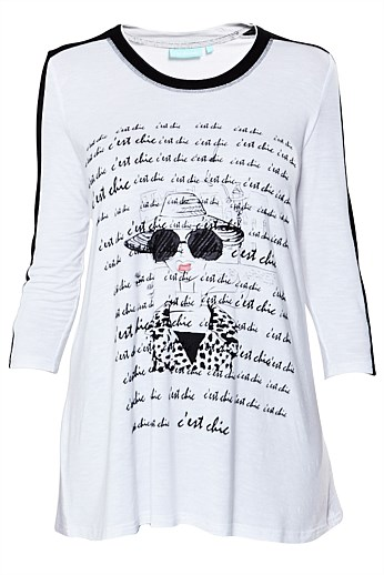 Graphic Print Top AUD 99.95
