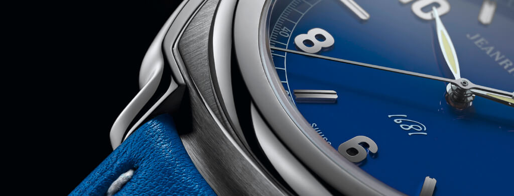 Blue-dial