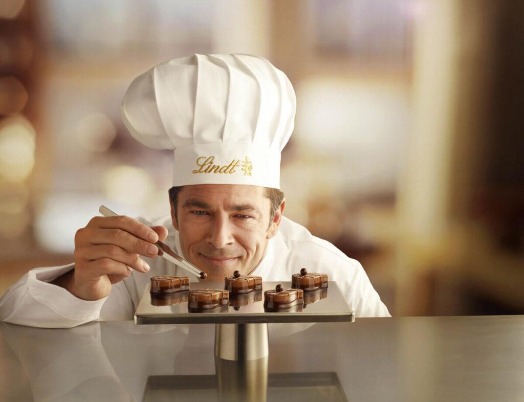 Lindt_Maitre_Chocolatier_Handdeko_hand_decoartion