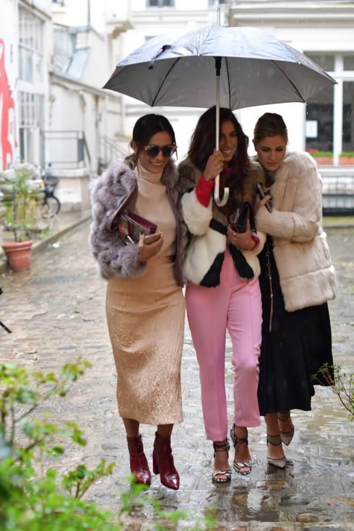 10 Top Rainy Street Style Looks