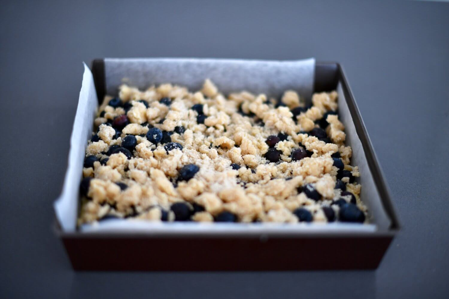 Blueberry Crumble for Spring