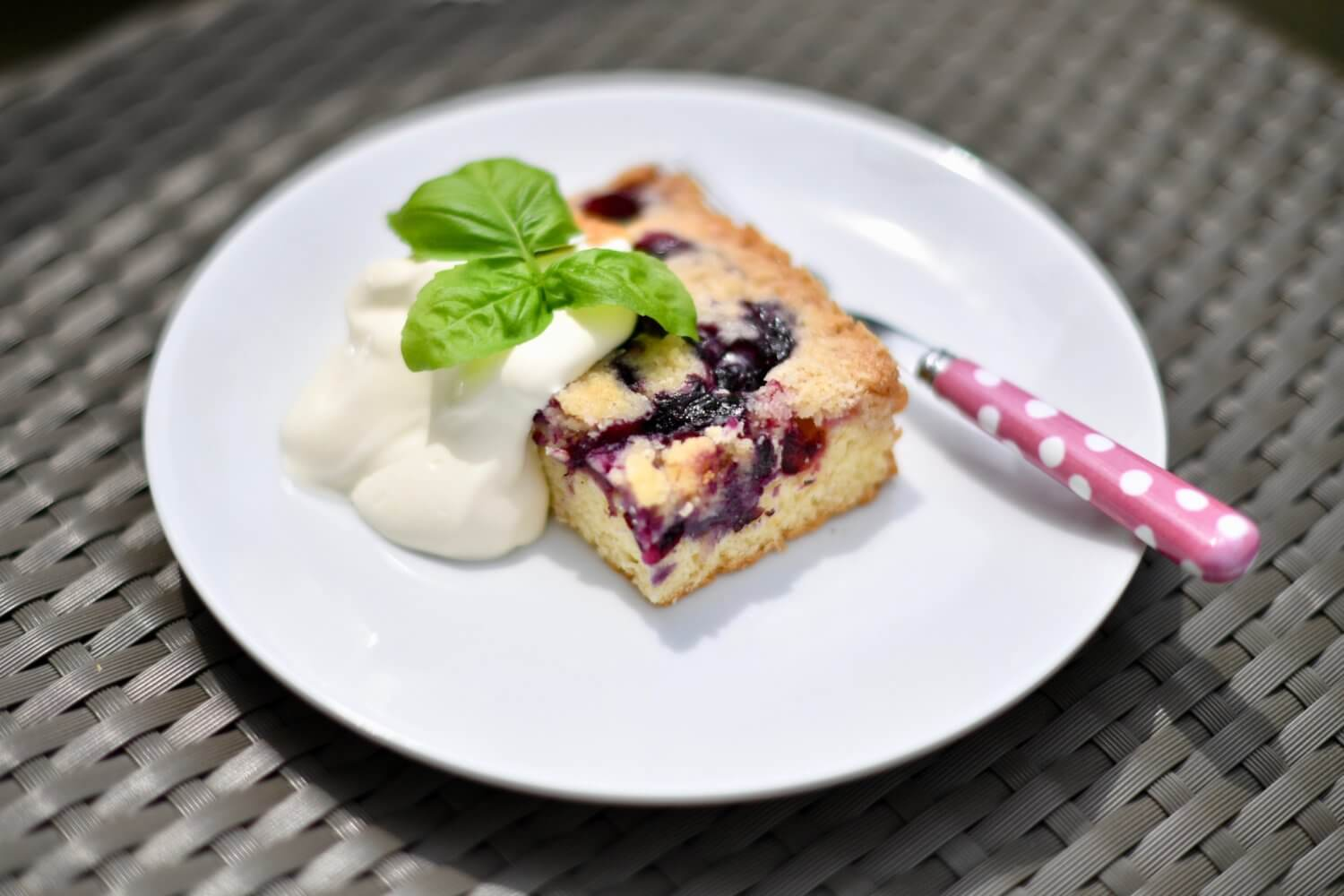Berry Crumble for Spring