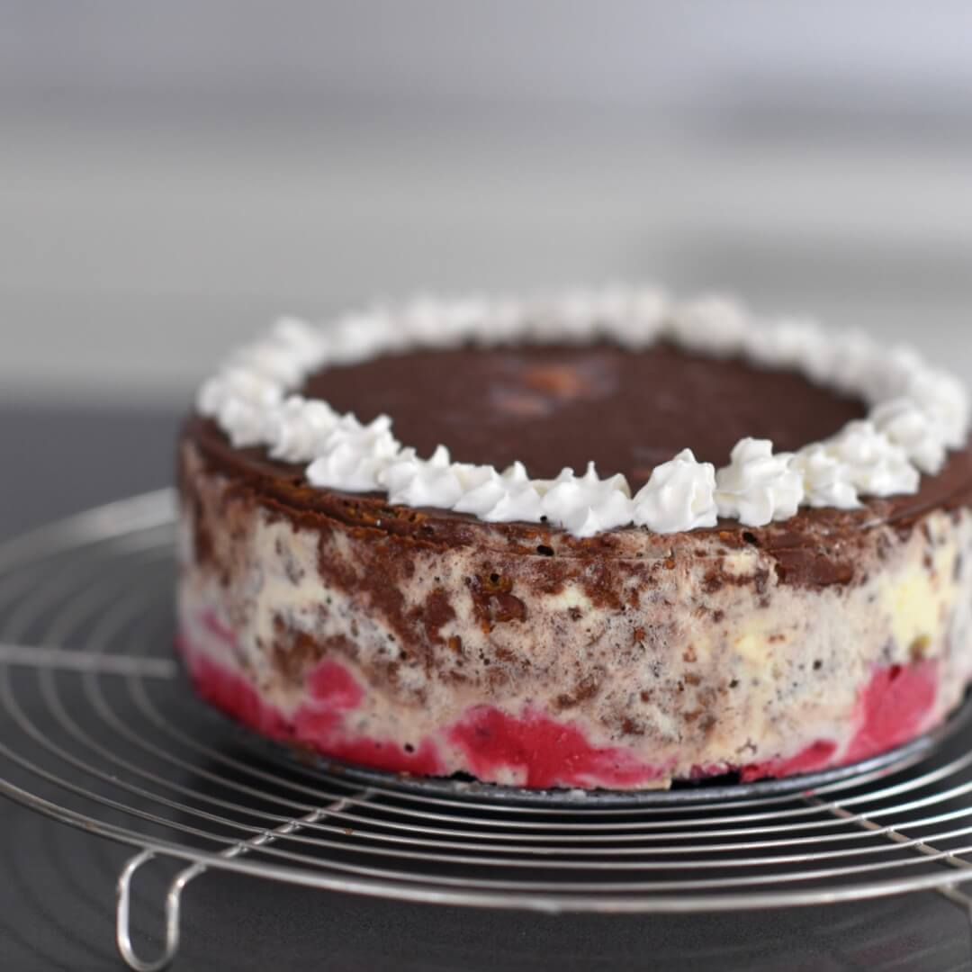 Chocolate Crunch Ice Cream Cake