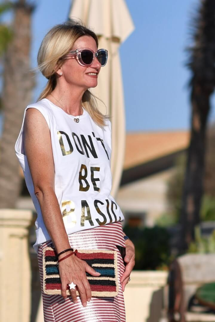 What the Italian's say about Graphic T-shirts: Ageless Style Linkup