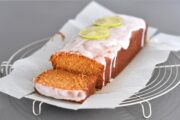 Carrot & Ginger Loaf with Lime Glaze
