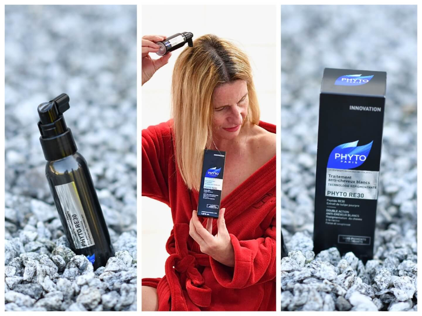 Grey Hair No More - Grey Hair Pigmentation thanks to Phyto RE30