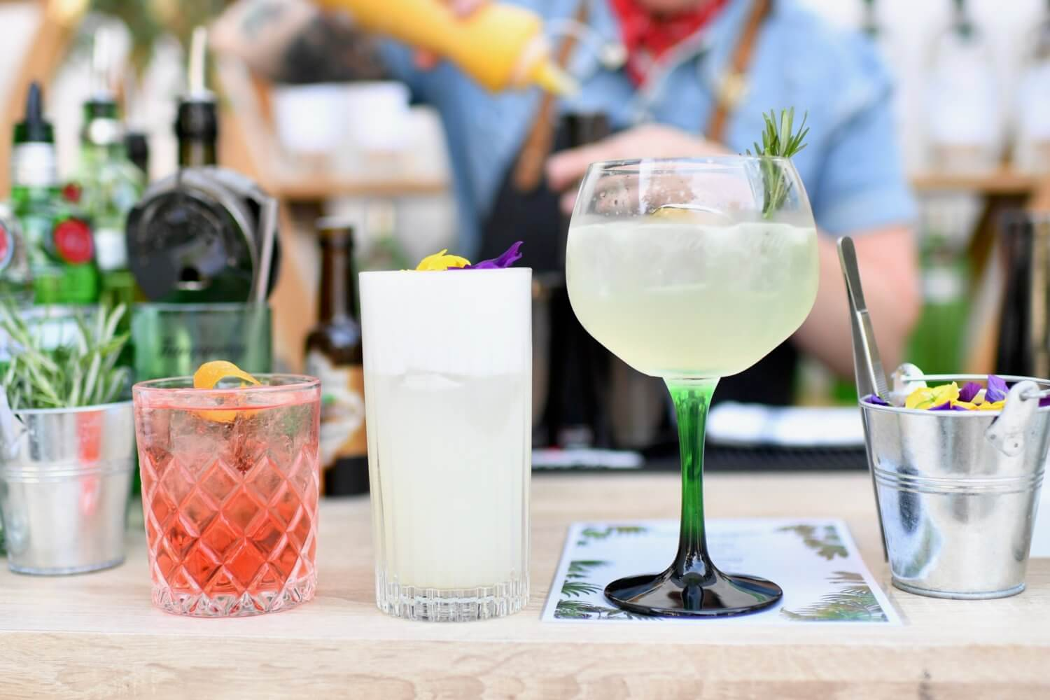 Meeting Kaitlyn Stewart - Best Barkeeper in the World & 4 Tanqueray Garden Cocktail recipes