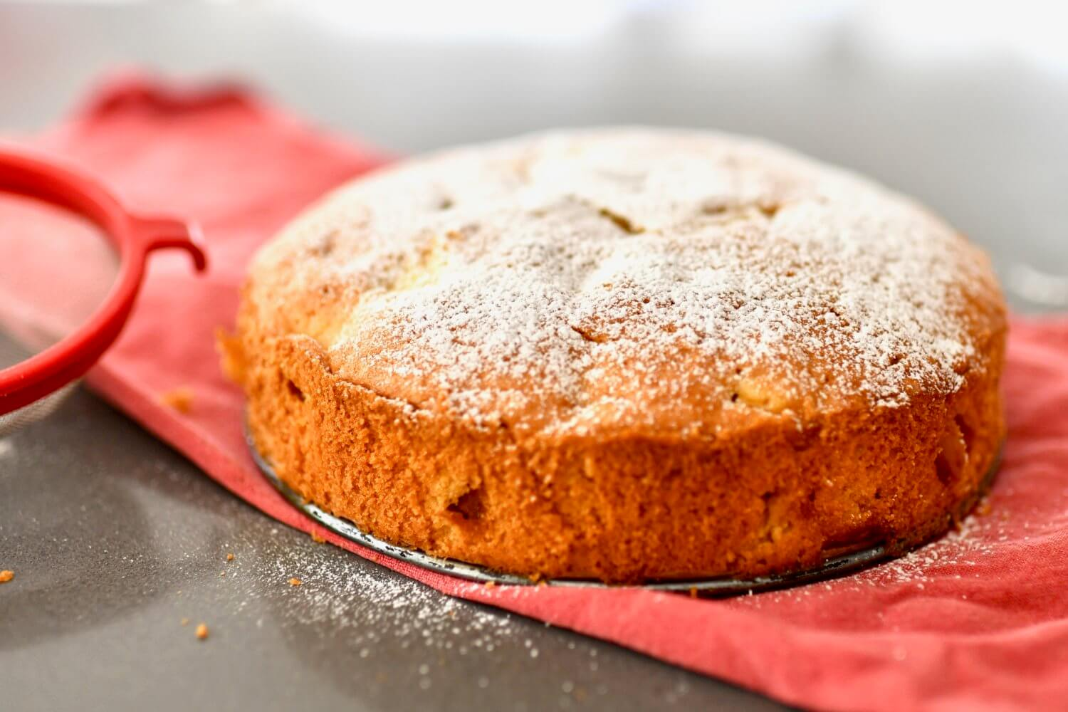 The Perfect Apple Picnic Cake