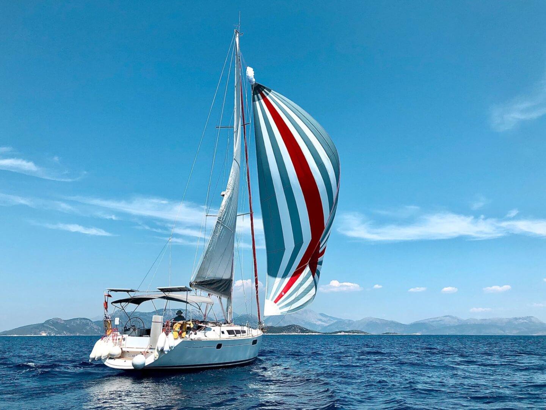 Awesome Greek Island Sailing