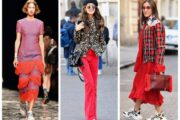 How Fashionistas Wear Red