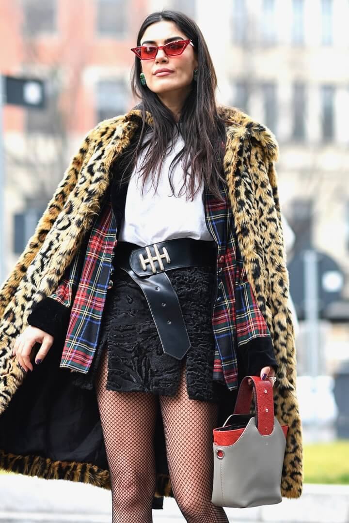 How Fashionistas Wear Tartan in Winter