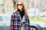 How Fashionistas Wear Tartan in Winter