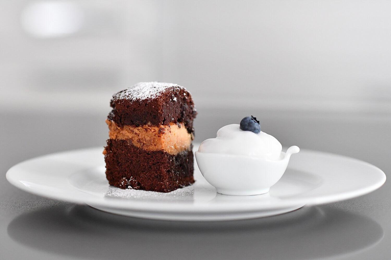 Salted Caramel and Dark Chocolate Brownie