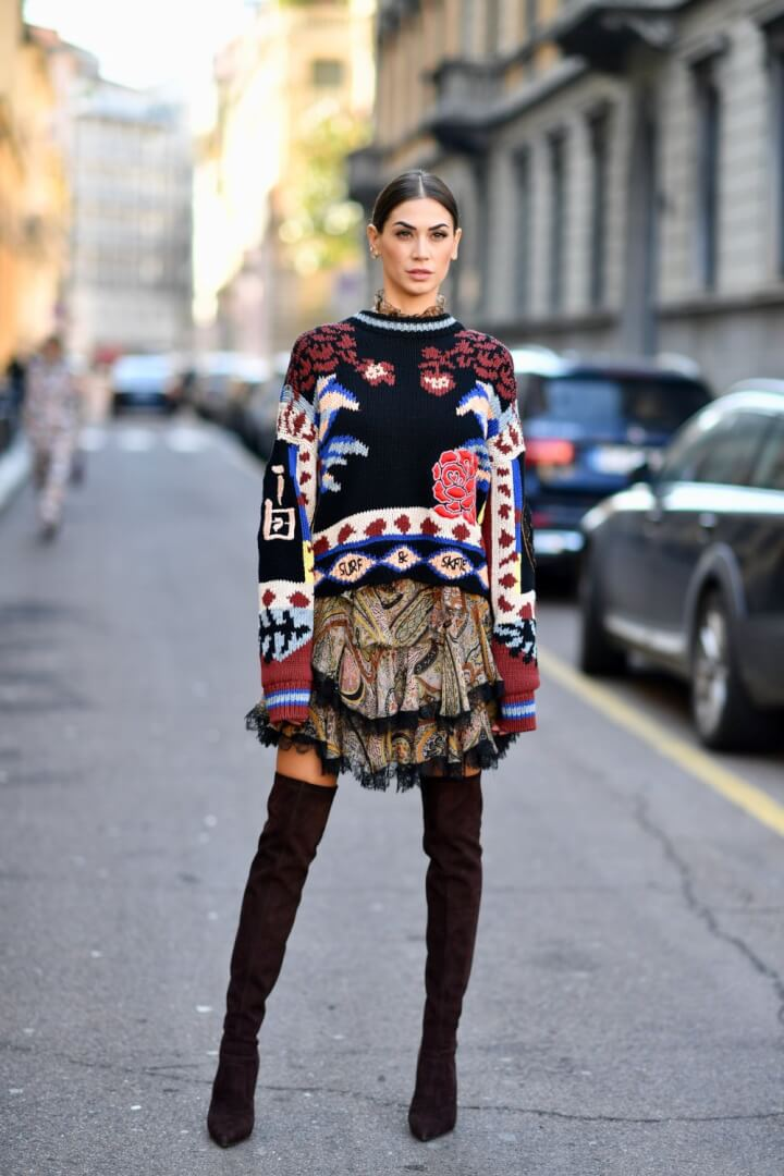Best Street Style From Milan Fashion Week Fall 2019