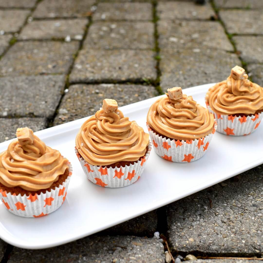 New Nespresso Barista Creations Recipe - Coffee & Salted Caramel Cupcakes