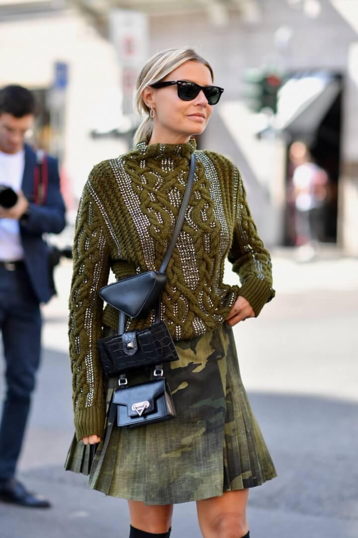 Street Fashion 2020.Street Style Part 2 Milan Fashion Week Spring Summer 2020