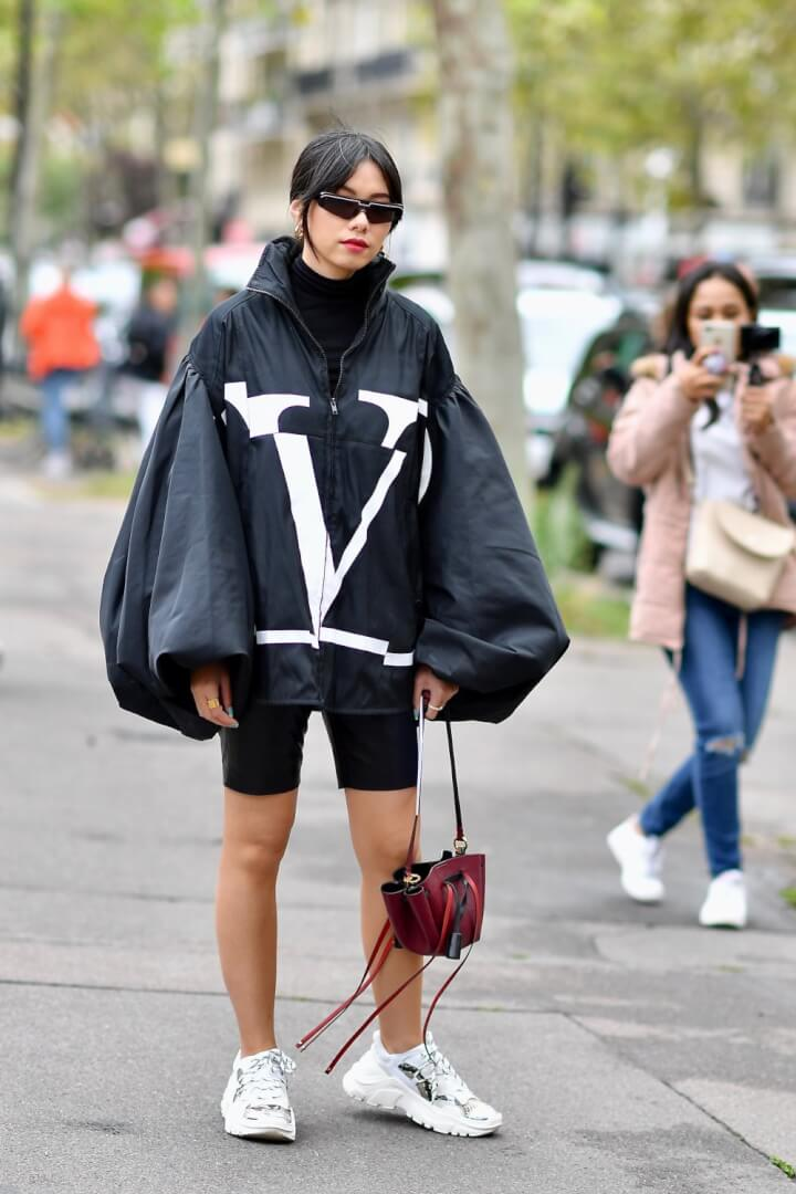 Paris Fashion Week SS20 – Celebrities and Trends Spotted Outside Valentino