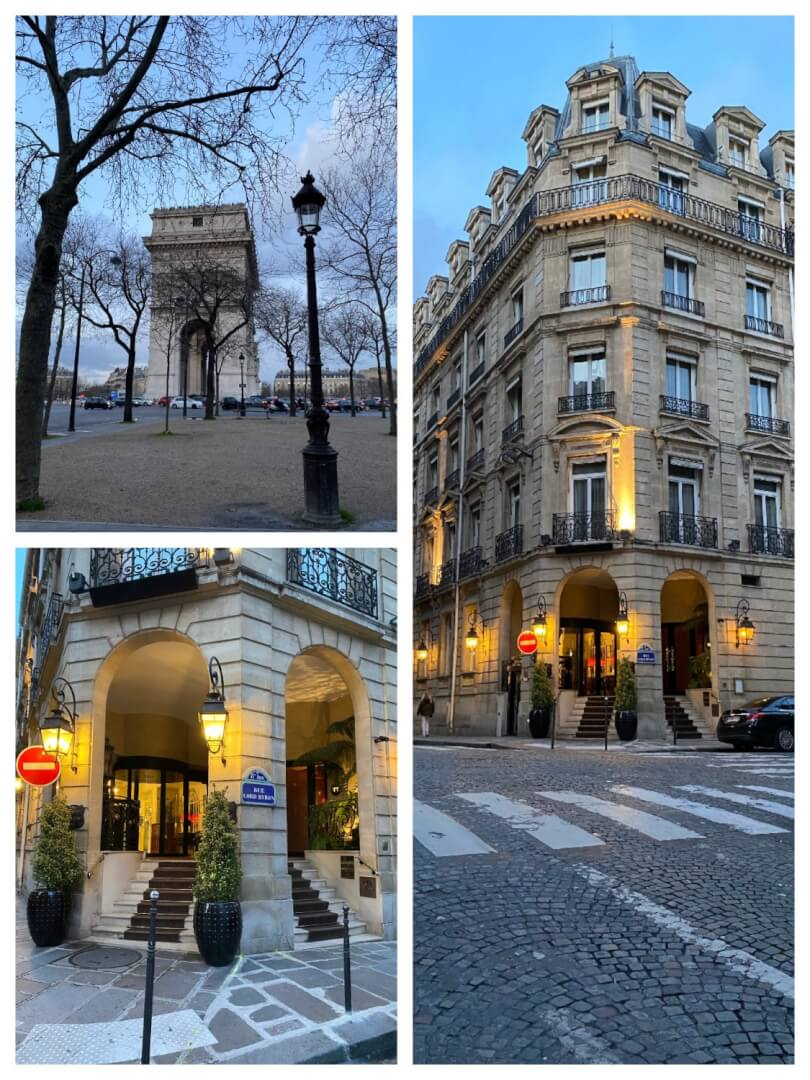 Luxury Hideaway in Paris with Amazing Pierre Gagnaire 3 Michelin Star Restaurant on it's Doorstep