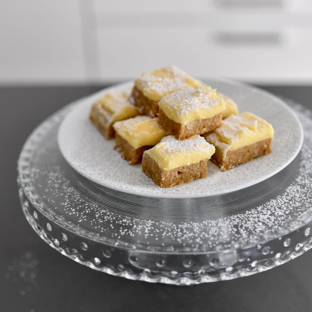 No-Bake No-Flour Passionfruit Slice