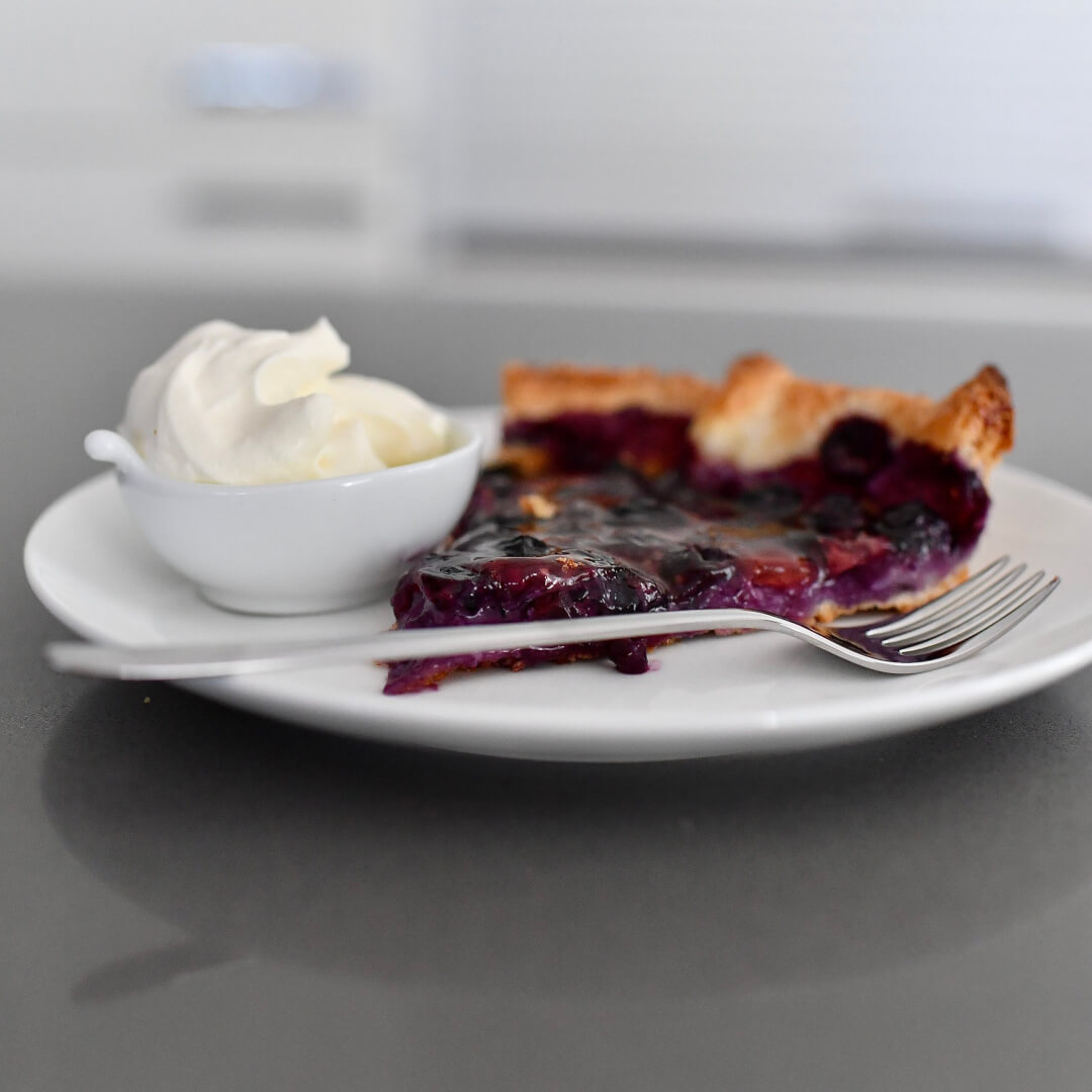 The 5 Minute Blueberry Tarte