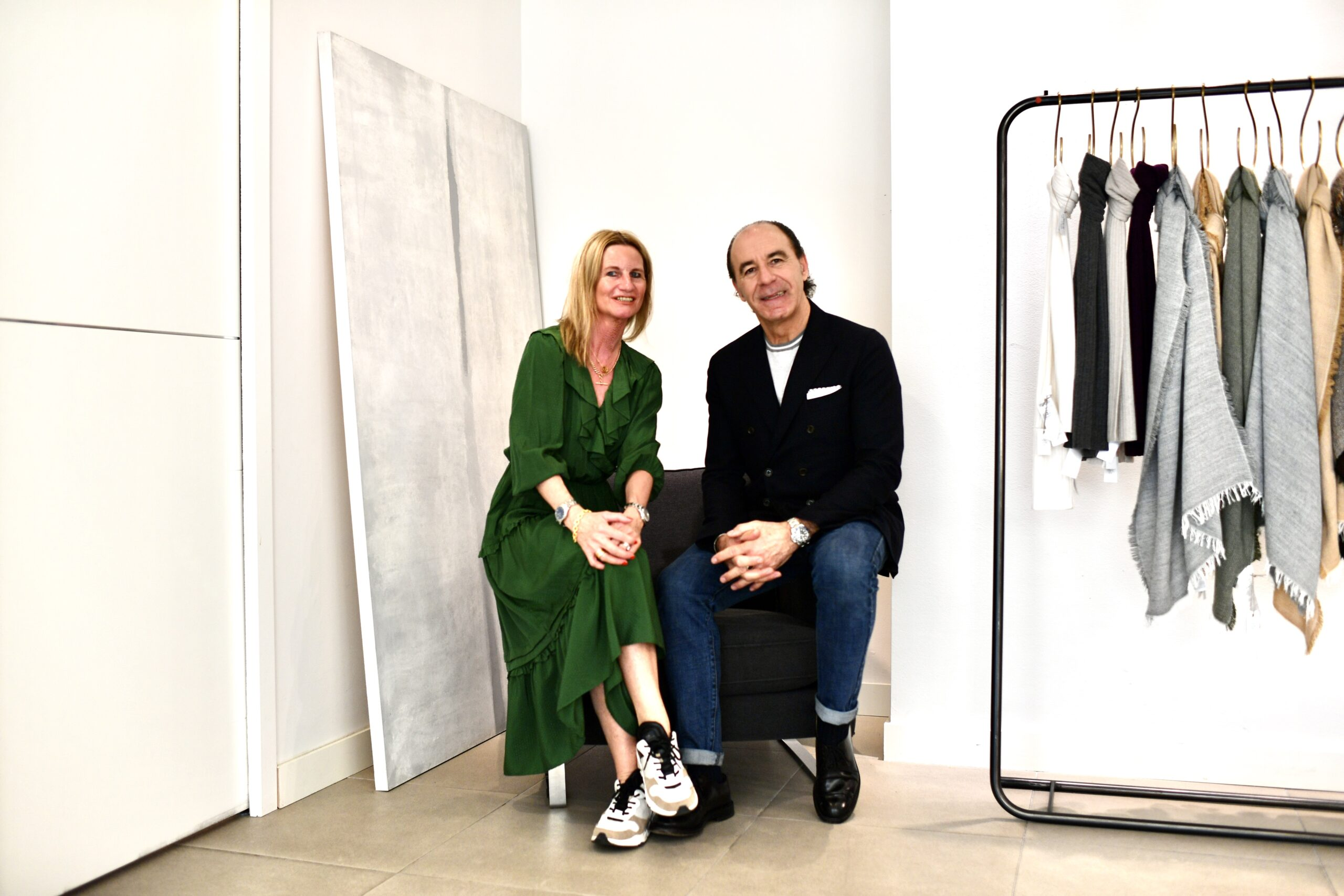 How COVID-19 really affected the fashion industry - talking to Eleventy's CEO and creative director, Paolo Zuntini in Milan.