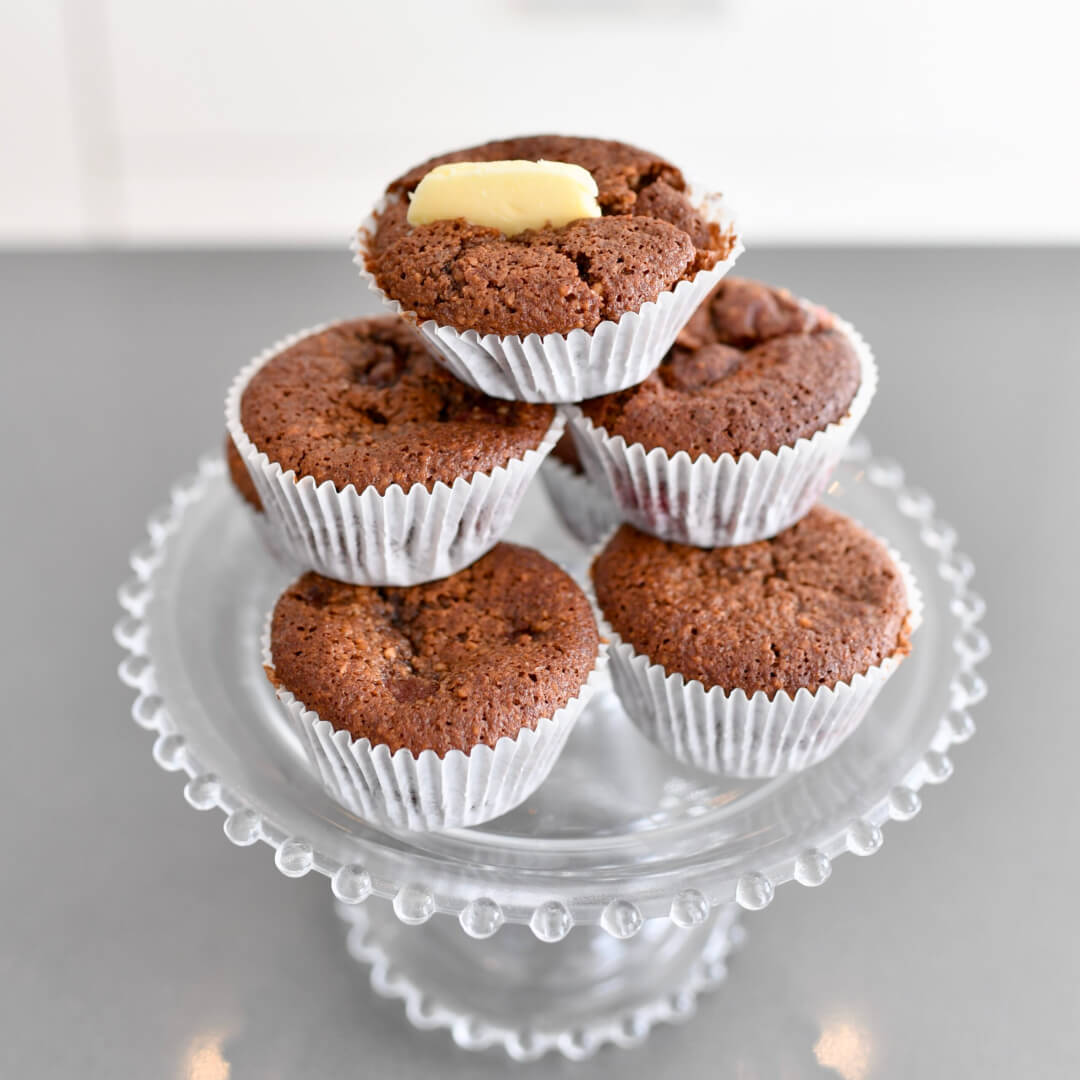 Gluten Free Chocolate and Raspberry Cupcakes