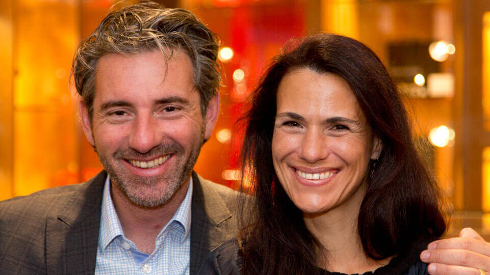 Andreas and Martina Zimmerli-Landolt - photo from Landolt-Arbenz