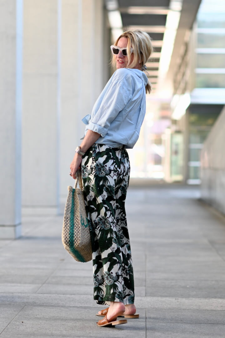 1 Pair of Wide Leg Pants: 3 Ways to Style Them