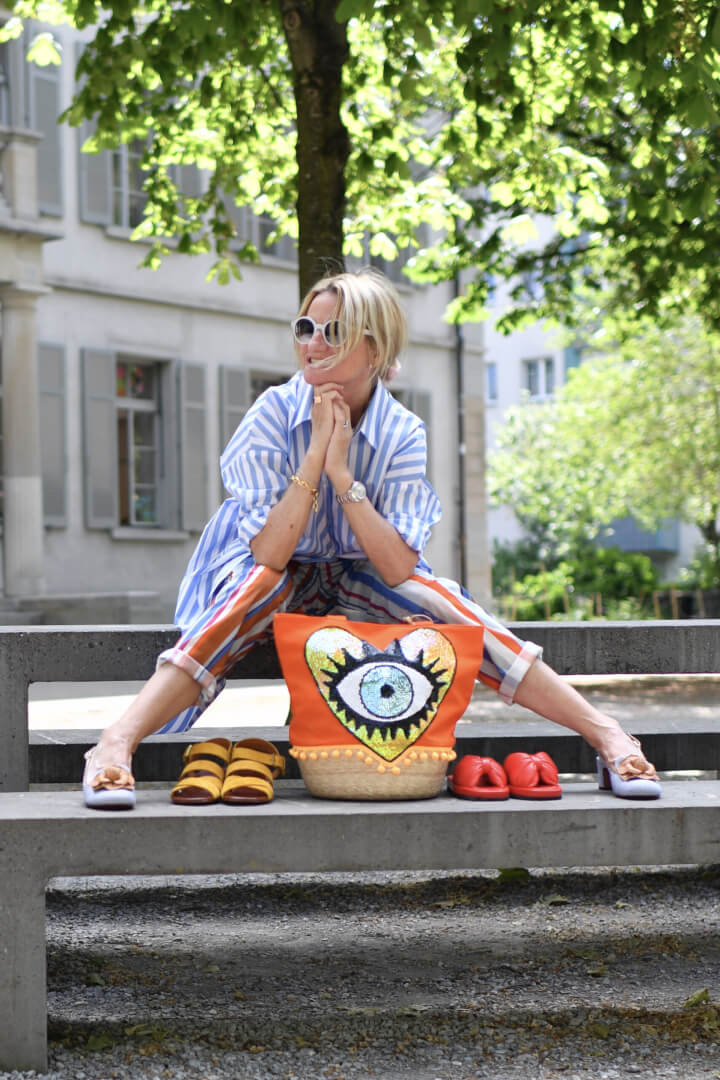 How to have fun with stripes this Summer